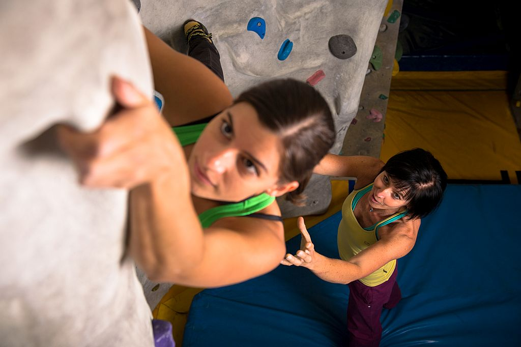 Bouldern Basic 4 ladies only