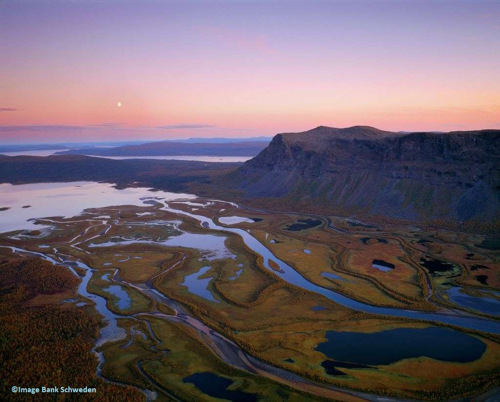Wildnis-Trekking im Sarek-Nationalpark